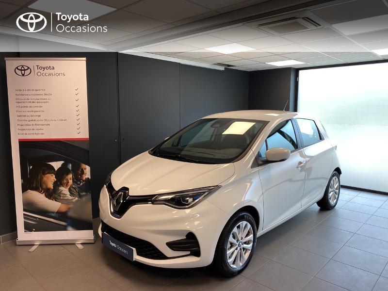 Renault Zoe Zen charge normale R110 Achat Intégral 4cv Electrique blanc Occasion à vendre