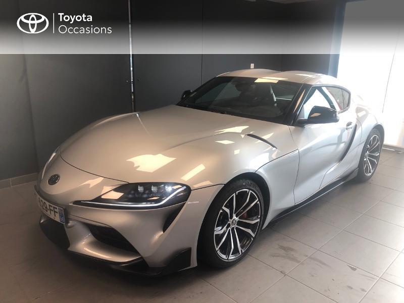 Photo 1 de l'offre de TOYOTA Toyota Supra Toyota GR Supra 258ch GR Supra PkPrem Showroom à 56990€ chez Altis - Toyota Lorient