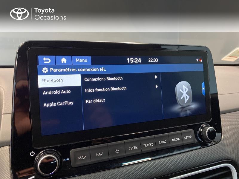 Photo 17 de l'offre de HYUNDAI Kona 1.6 GDi hybrid 141ch Edition 1 DCT-6 Euro6d-T EVAP à 21990€ chez Altis - Toyota Lorient