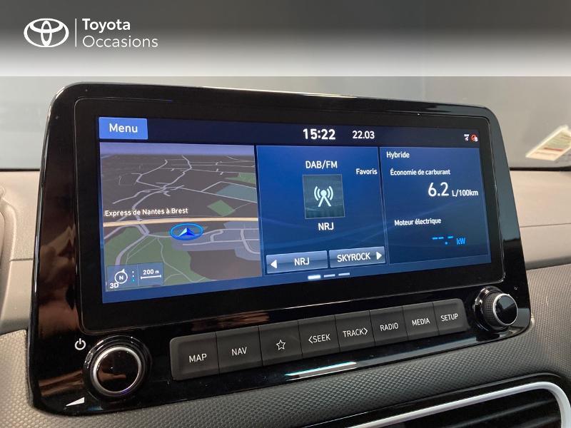 Photo 11 de l'offre de HYUNDAI Kona 1.6 GDi hybrid 141ch Edition 1 DCT-6 Euro6d-T EVAP à 21990€ chez Altis - Toyota Lorient
