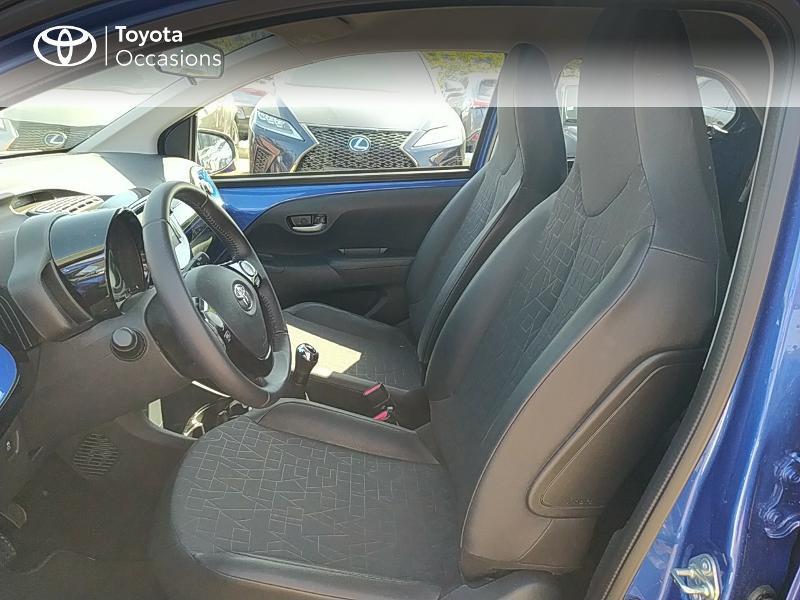 Photo 11 de l'offre de TOYOTA Aygo 1.0 VVT-i 72ch x-clusiv 5p MY20 à 11990€ chez Altis - Toyota Lorient