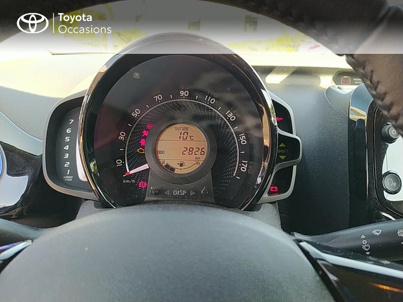 Photo 14 de l'offre de TOYOTA Aygo 1.0 VVT-i 72ch x-clusiv 5p MY20 à 11990€ chez Altis - Toyota Lorient