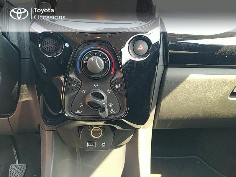 Photo 22 de l'offre de TOYOTA Aygo 1.0 VVT-i 72ch x-clusiv 5p MY20 à 11990€ chez Altis - Toyota Lorient