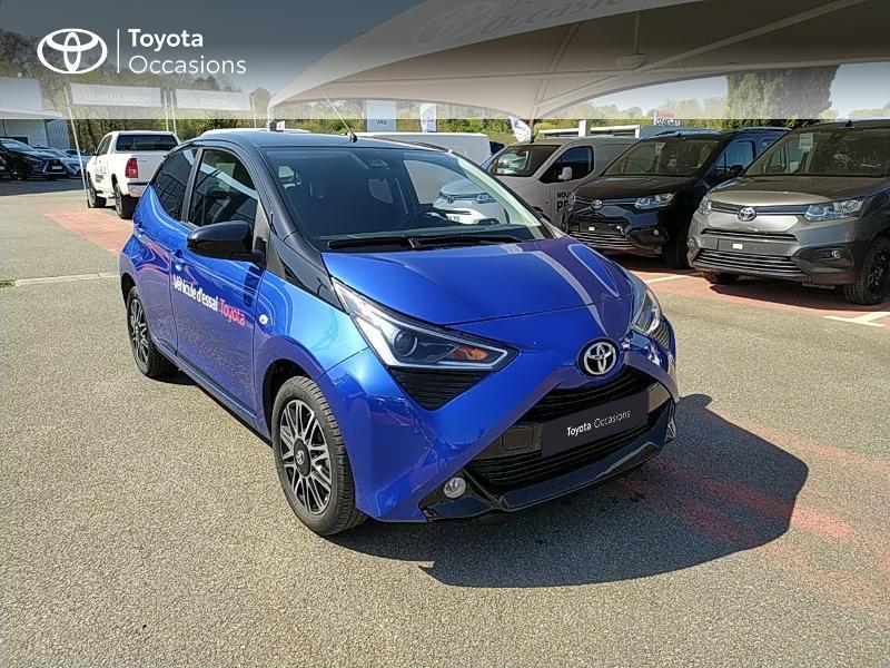 Photo 19 de l'offre de TOYOTA Aygo 1.0 VVT-i 72ch x-clusiv 5p MY20 à 11990€ chez Altis - Toyota Lorient