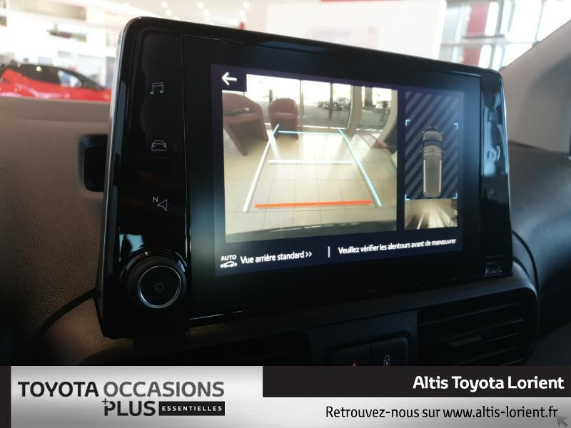 Photo 11 de l'offre de TOYOTA ProAce City Verso Medium 1.5 100 D-4D Design à 29490€ chez Altis - Toyota Lorient