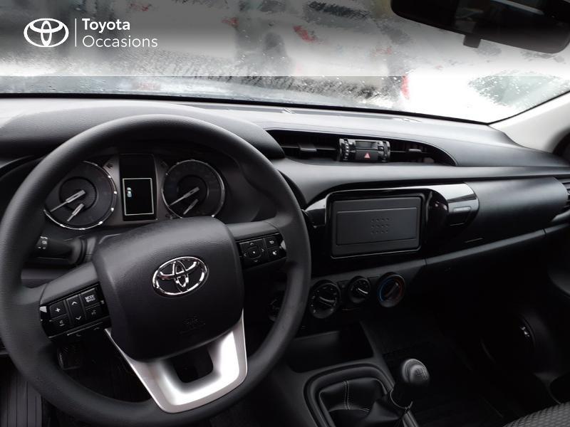 Photo 8 de l'offre de TOYOTA Hilux 2.4 D-4D X-Tra Cabine LeCap 4WD MC20 à 30222€ chez Altis - Toyota Lorient