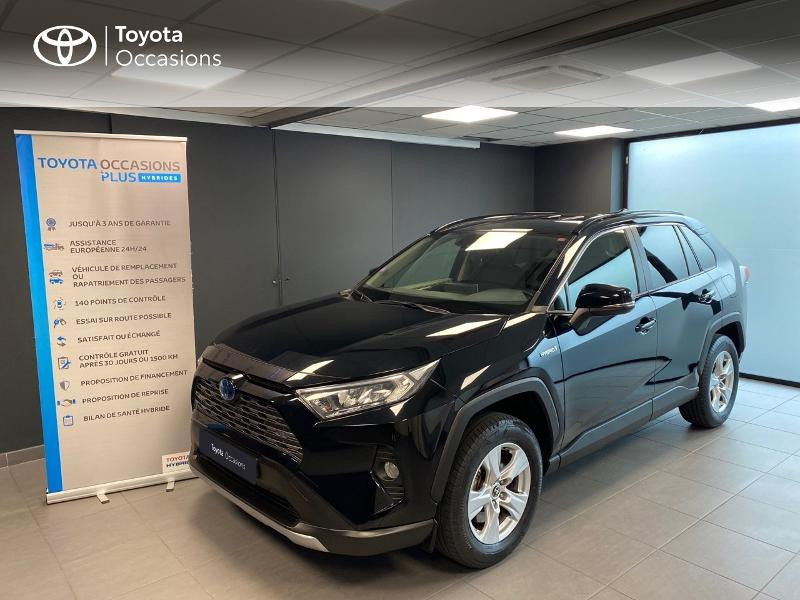 Photo 1 de l'offre de TOYOTA RAV4 Hybride 218ch Dynamic 2WD MY20 à 29990€ chez Altis - Toyota Lorient