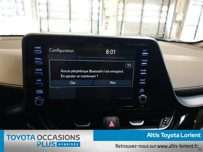 Photo 11 de l'offre de TOYOTA C-HR 184h Edition 2WD E-CVT MY20 à 29300€ chez Altis - Toyota Lorient