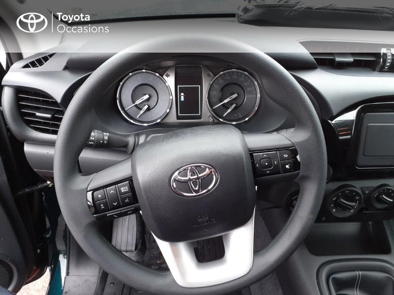 Photo 9 de l'offre de TOYOTA Hilux 2.4 D-4D X-Tra Cabine LeCap 4WD MC20 à 30222€ chez Altis - Toyota Lorient