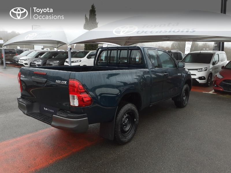 Photo 18 de l'offre de TOYOTA Hilux 2.4 D-4D X-Tra Cabine LeCap 4WD MC20 à 30222€ chez Altis - Toyota Lorient