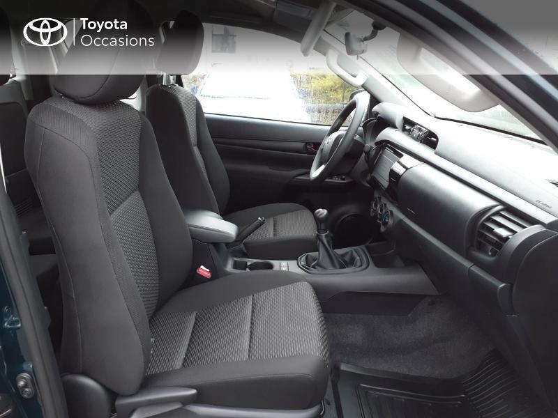 Photo 6 de l'offre de TOYOTA Hilux 2.4 D-4D X-Tra Cabine LeCap 4WD MC20 à 30222€ chez Altis - Toyota Lorient