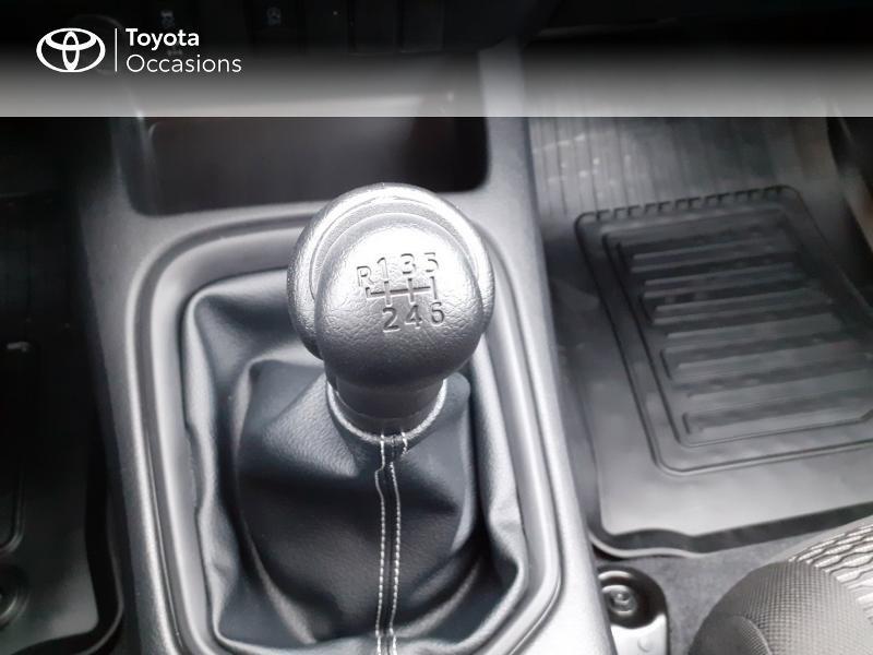 Photo 23 de l'offre de TOYOTA Hilux 2.4 D-4D X-Tra Cabine LeCap 4WD MC20 à 30222€ chez Altis - Toyota Lorient