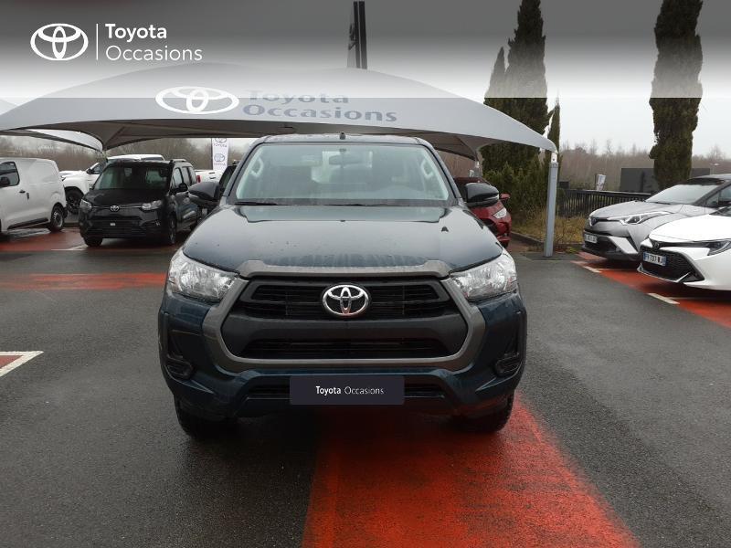 Photo 5 de l'offre de TOYOTA Hilux 2.4 D-4D X-Tra Cabine LeCap 4WD MC20 à 30222€ chez Altis - Toyota Lorient