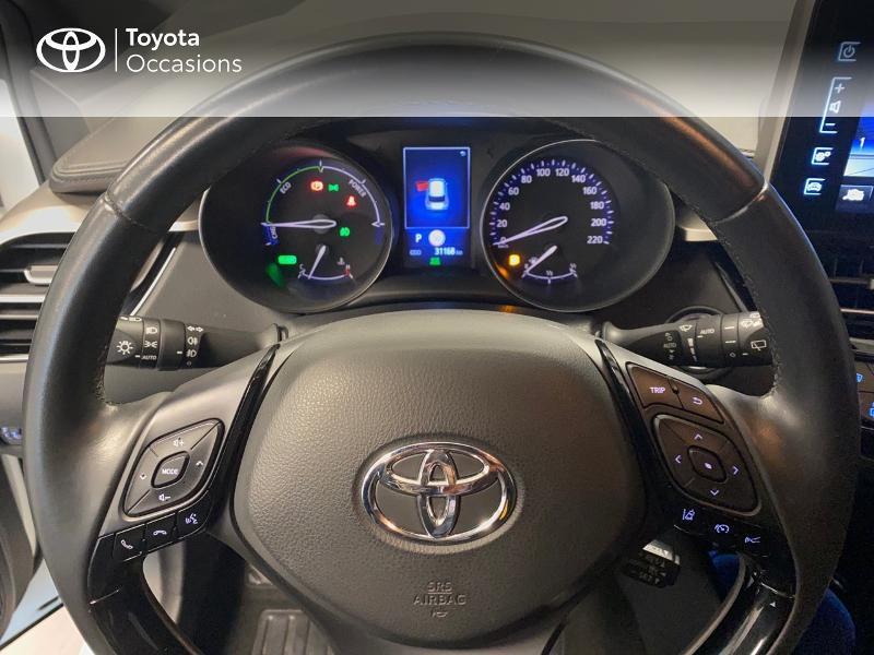 Photo 13 de l'offre de TOYOTA C-HR 122h Edition 2WD E-CVT RC18 à 20490€ chez Altis - Toyota Lorient