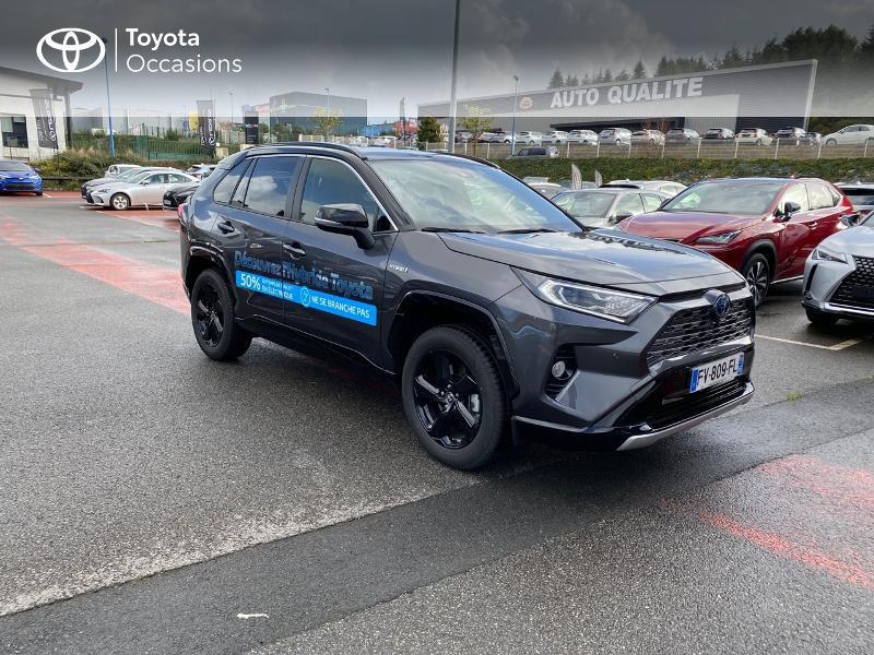 Photo 19 de l'offre de TOYOTA RAV4 Hybride 218ch Collection 2WD MY20 à 39990€ chez Altis - Toyota Lorient