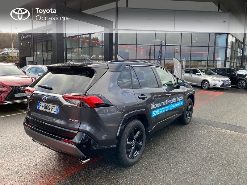 Photo 13 de l'offre de TOYOTA RAV4 Hybride 218ch Collection 2WD MY20 à 39990€ chez Altis - Toyota Lorient