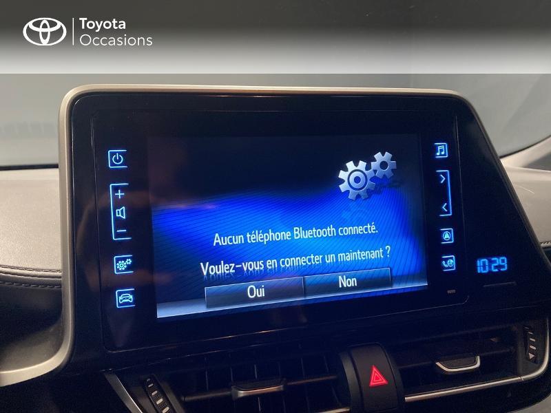 Photo 17 de l'offre de TOYOTA C-HR 122h Edition 2WD E-CVT RC18 à 20490€ chez Altis - Toyota Lorient