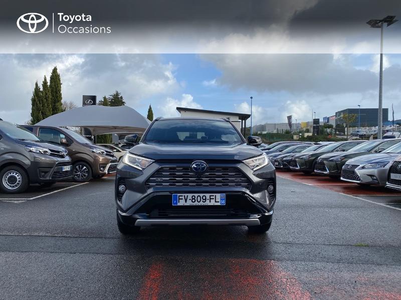 Photo 5 de l'offre de TOYOTA RAV4 Hybride 218ch Collection 2WD MY20 à 39990€ chez Altis - Toyota Lorient