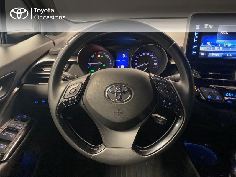 Photo 8 de l'offre de TOYOTA C-HR 122h Edition 2WD E-CVT RC18 à 20490€ chez Altis - Toyota Lorient