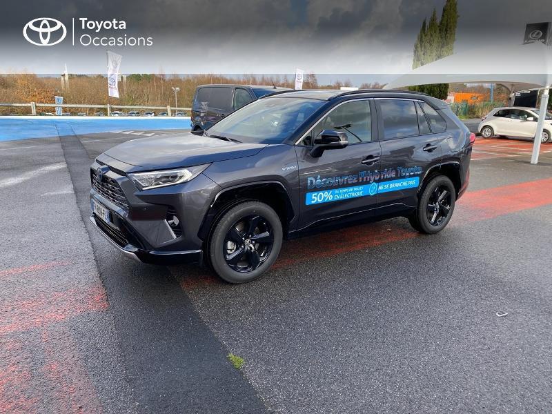 Photo 1 de l'offre de TOYOTA RAV4 Hybride 218ch Collection 2WD MY20 à 39990€ chez Altis - Toyota Lorient