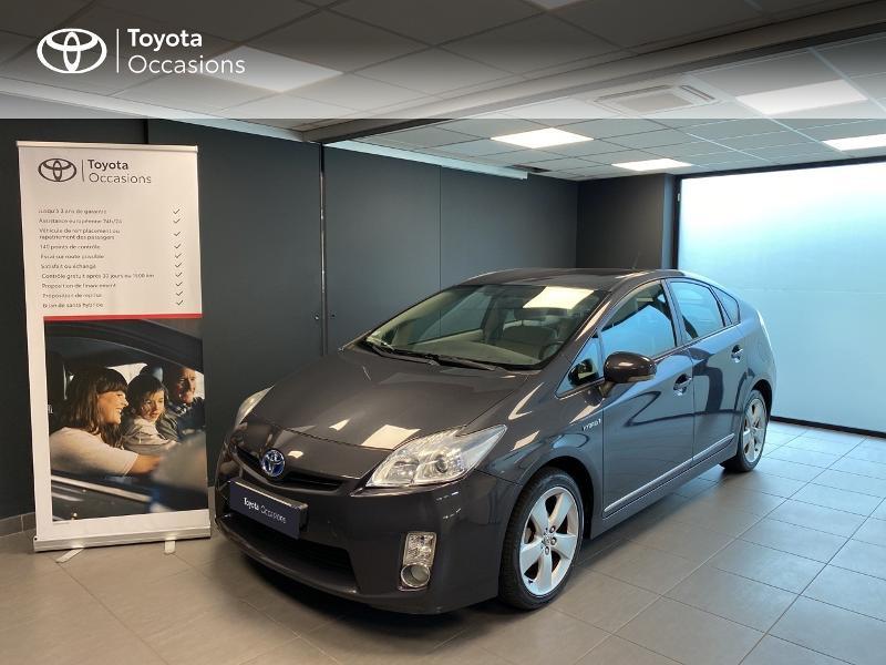 Toyota Prius 136h Dynamic 17  Hybride blanc nacré Occasion à vendre