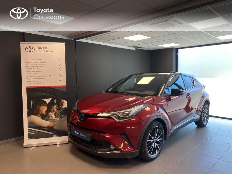 Toyota C-HR 122h Collection 2WD E-CVT Hybride BI COULEUR Occasion à vendre