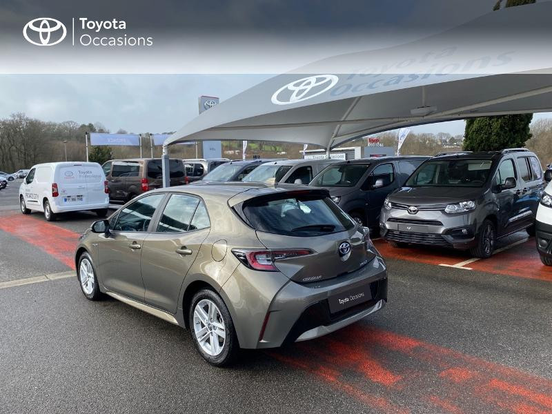 Photo 2 de l'offre de TOYOTA Corolla 122h Dynamic MY21 à 25990€ chez Altis - Toyota Lorient