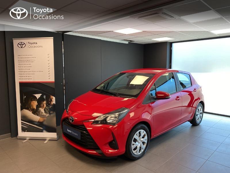 Toyota Yaris 70 VVT-i France 5p RC18 Essence rouge Occasion à vendre