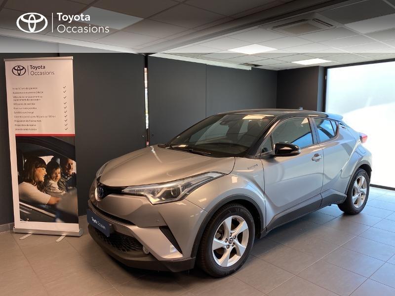 Toyota C-HR 122h Dynamic Business 2WD E-CVT Hybride GRIS PLATINI Occasion à vendre