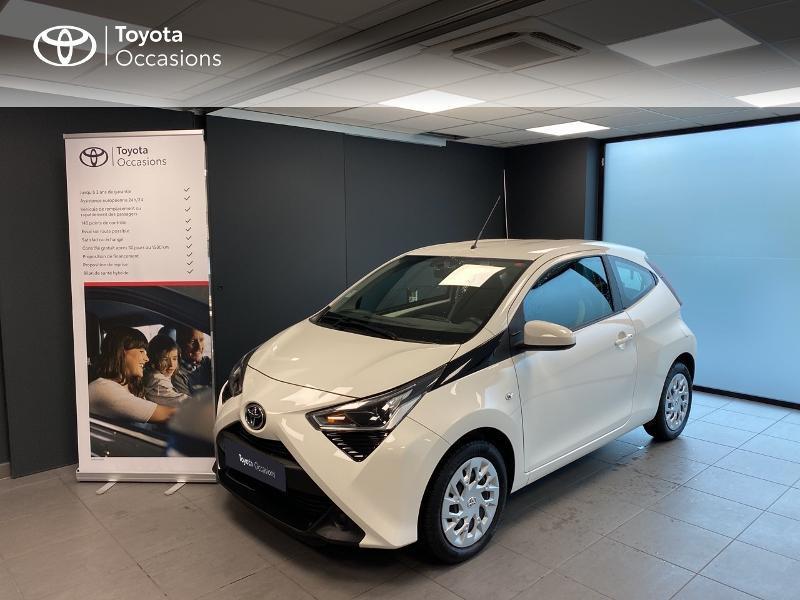 Toyota Aygo 1.0 VVT-i 72ch x-play 5p MY20 Essence blanc Occasion à vendre