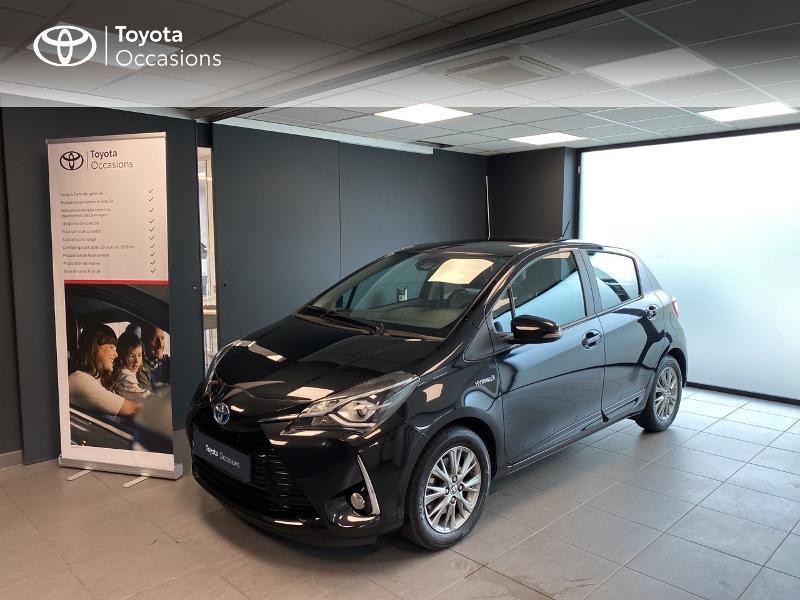 Toyota Yaris 100h Dynamic 5p Hybride Noir Occasion à vendre