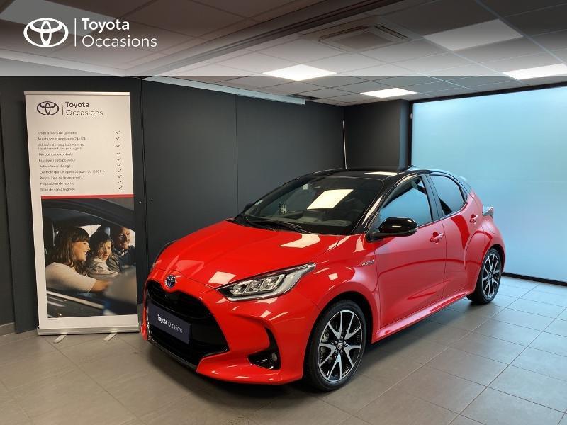 Toyota Yaris 116h Première 5p Hybride Rouge fusion Occasion à vendre