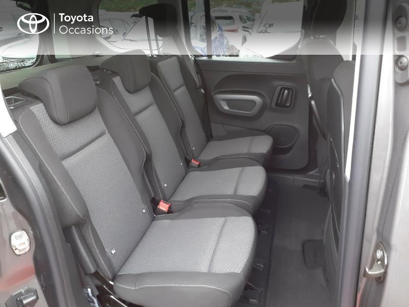 Photo 7 de l'offre de TOYOTA PROACE CITY Verso Medium 1.2 130 VVT-i Design BVA RC21 à 30290€ chez Altis - Toyota Lorient
