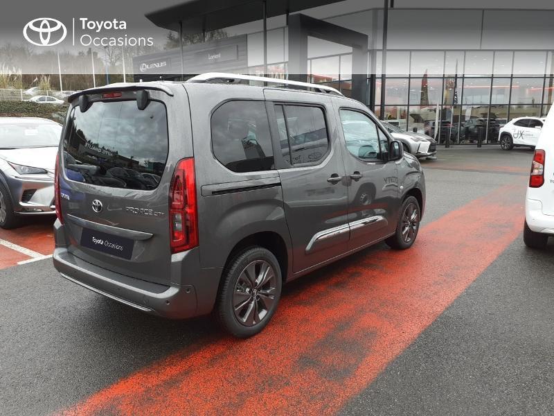 Photo 18 de l'offre de TOYOTA PROACE CITY Verso Medium 1.2 130 VVT-i Design BVA RC21 à 30290€ chez Altis - Toyota Lorient