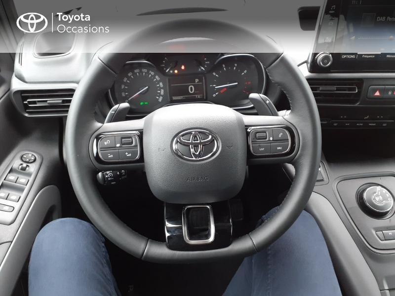 Photo 9 de l'offre de TOYOTA PROACE CITY Verso Medium 1.2 130 VVT-i Design BVA RC21 à 30290€ chez Altis - Toyota Lorient