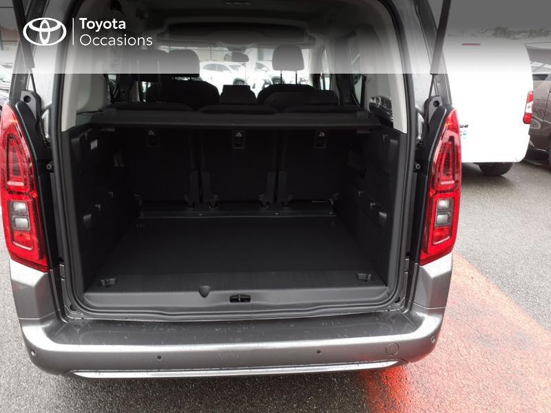 Photo 10 de l'offre de TOYOTA PROACE CITY Verso Medium 1.2 130 VVT-i Design BVA RC21 à 30290€ chez Altis - Toyota Lorient