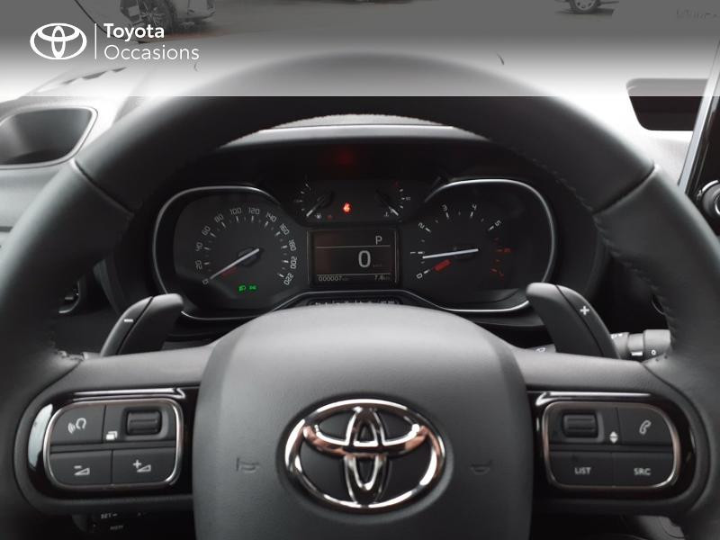 Photo 13 de l'offre de TOYOTA PROACE CITY Verso Medium 1.2 130 VVT-i Design BVA RC21 à 30290€ chez Altis - Toyota Lorient