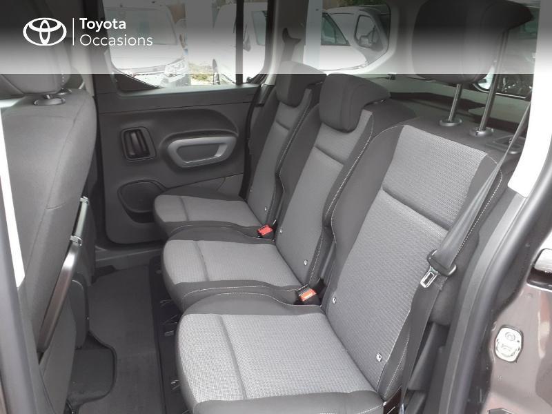 Photo 12 de l'offre de TOYOTA PROACE CITY Verso Medium 1.2 130 VVT-i Design BVA RC21 à 30290€ chez Altis - Toyota Lorient