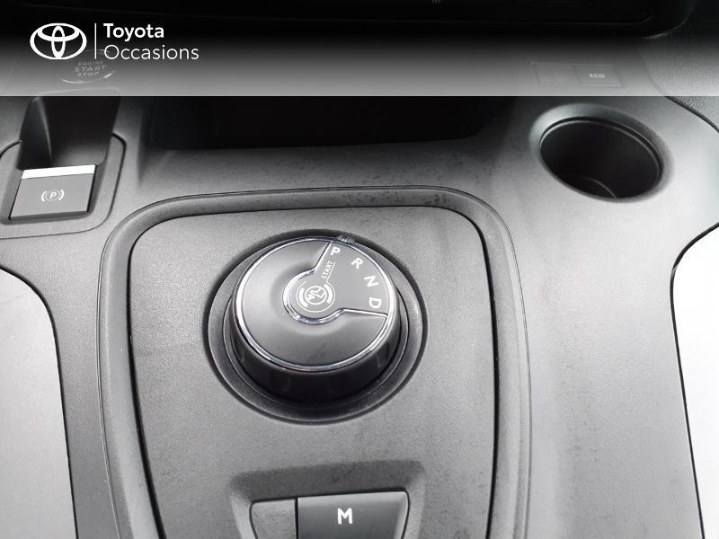 Photo 23 de l'offre de TOYOTA PROACE CITY Verso Medium 1.2 130 VVT-i Design BVA RC21 à 30290€ chez Altis - Toyota Lorient