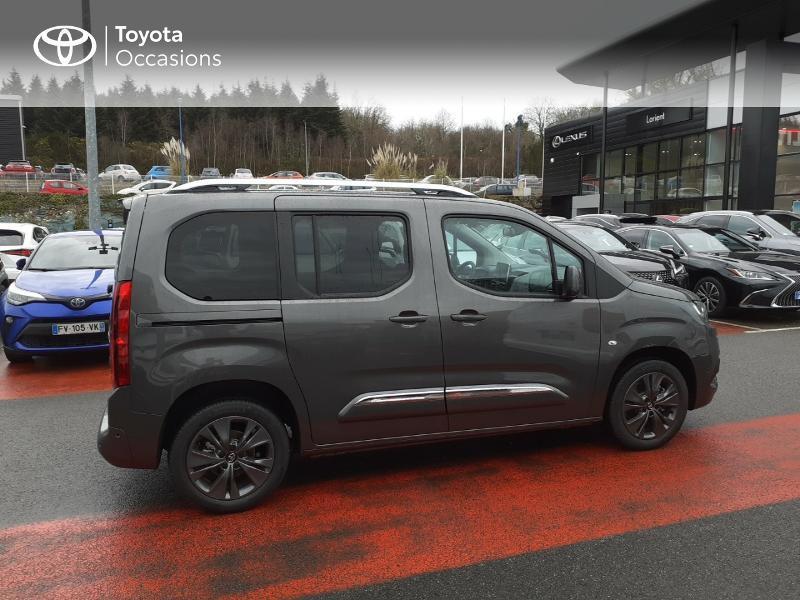 Photo 17 de l'offre de TOYOTA PROACE CITY Verso Medium 1.2 130 VVT-i Design BVA RC21 à 30290€ chez Altis - Toyota Lorient