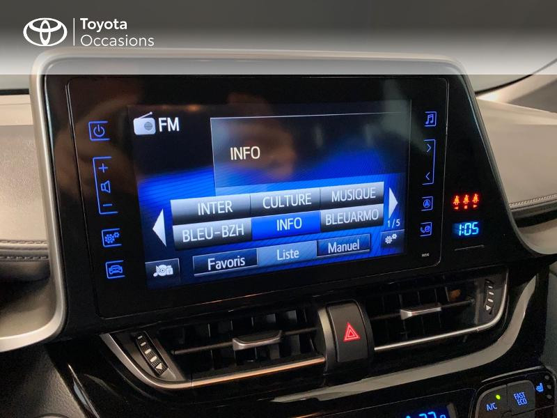 Photo 10 de l'offre de TOYOTA C-HR 122h Edition 2WD E-CVT RC18 à 20990€ chez Altis - Toyota Lorient