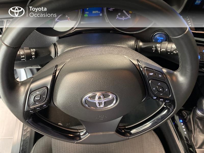 Photo 10 de l'offre de TOYOTA C-HR 122h Edition 2WD E-CVT RC18 à 20490€ chez Altis - Toyota Lorient