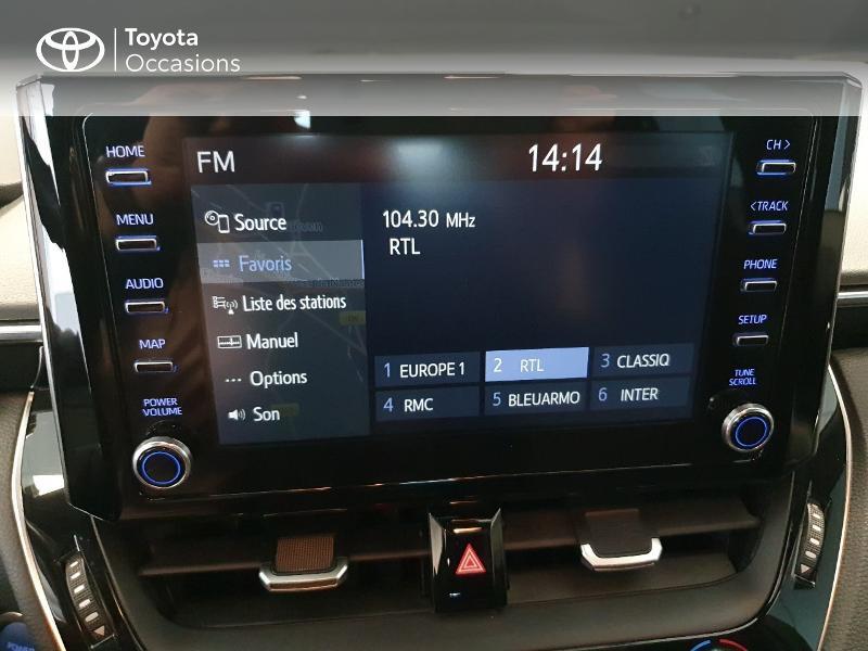 Photo 12 de l'offre de TOYOTA Corolla 122h Design MY20 à 22490€ chez Altis - Toyota Lorient