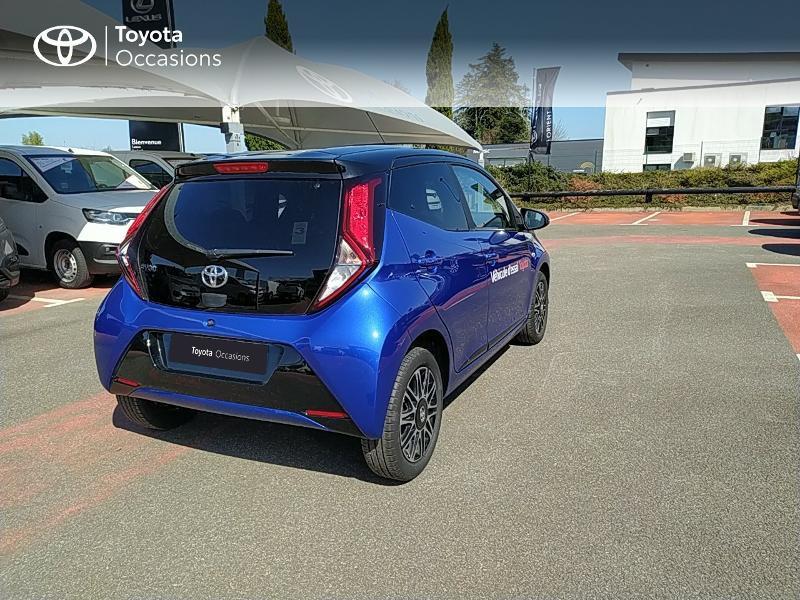 Photo 18 de l'offre de TOYOTA Aygo 1.0 VVT-i 72ch x-clusiv 5p MY20 à 11990€ chez Altis - Toyota Lorient