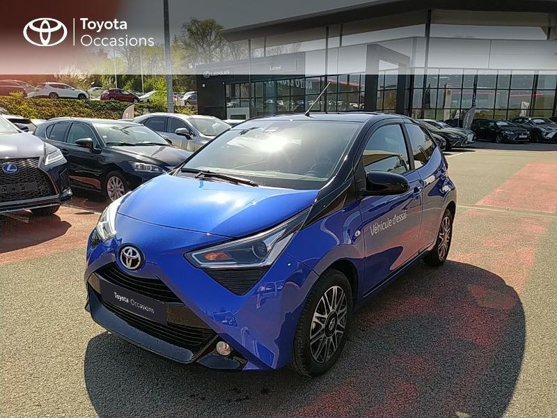 Photo 1 de l'offre de TOYOTA Aygo 1.0 VVT-i 72ch x-clusiv 5p MY20 à 11990€ chez Altis - Toyota Lorient