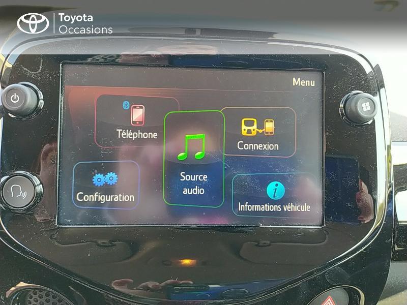 Photo 15 de l'offre de TOYOTA Aygo 1.0 VVT-i 72ch x-clusiv 5p MY20 à 11990€ chez Altis - Toyota Lorient