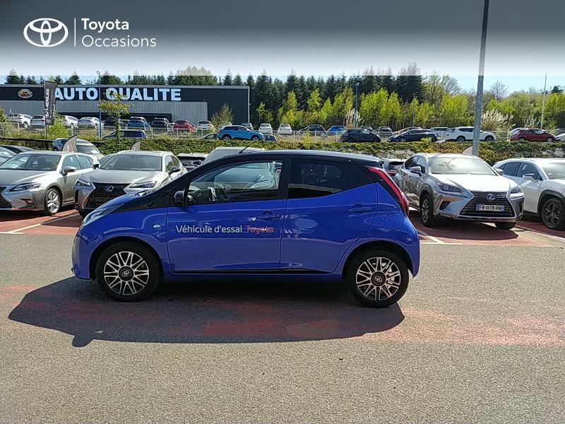 Photo 3 de l'offre de TOYOTA Aygo 1.0 VVT-i 72ch x-clusiv 5p MY20 à 11990€ chez Altis - Toyota Lorient