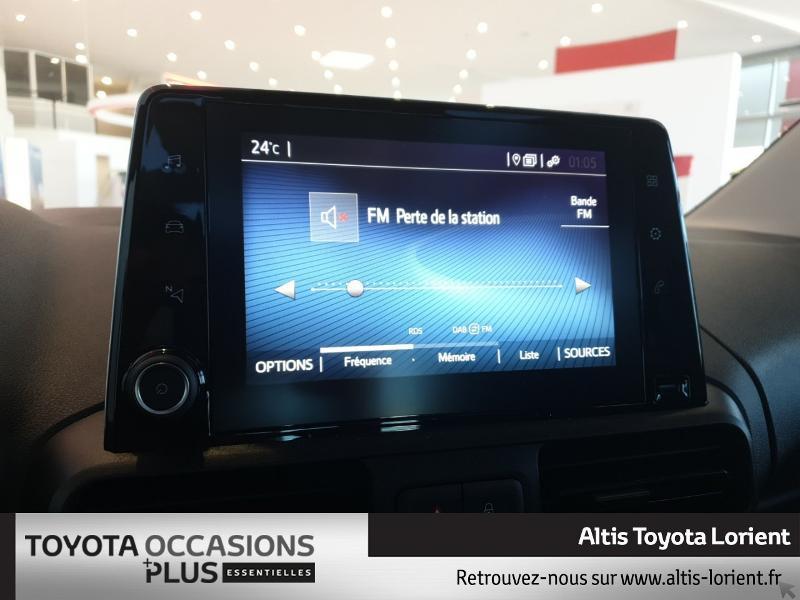 Photo 8 de l'offre de TOYOTA ProAce City Verso Medium 1.5 100 D-4D Design à 29490€ chez Altis - Toyota Lorient