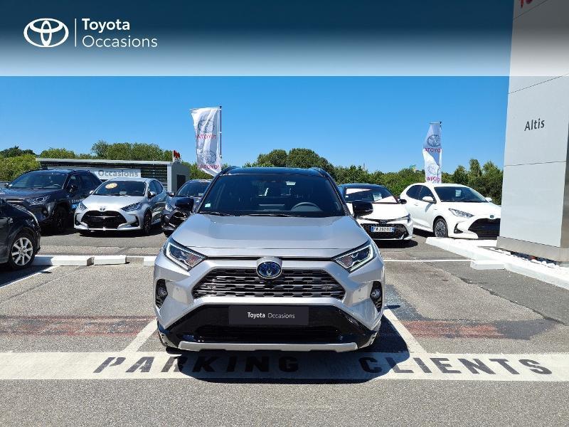 Photo 5 de l'offre de TOYOTA RAV4 Hybride 218ch Collection 2WD MY21 à 44325€ chez Altis - Toyota Lorient