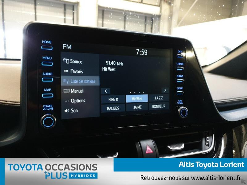 Photo 7 de l'offre de TOYOTA C-HR 184h Edition 2WD E-CVT MY20 à 29300€ chez Altis - Toyota Lorient